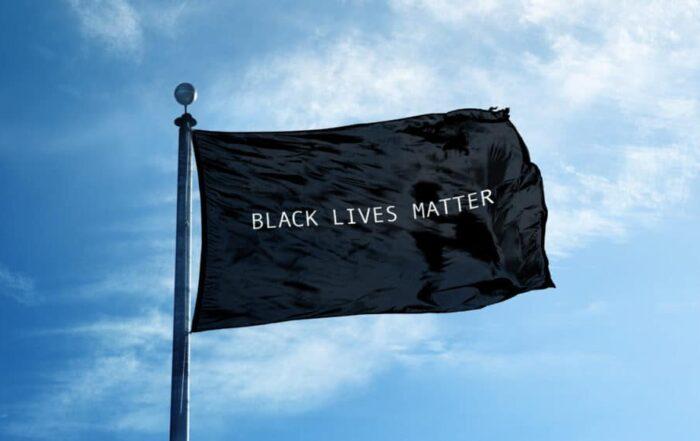 BLM Flag