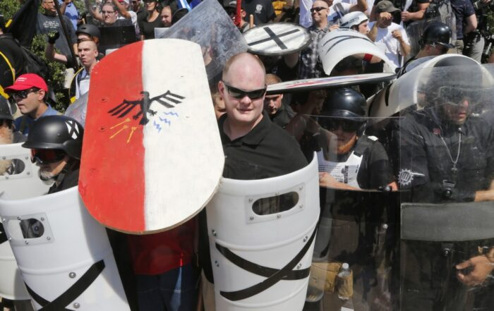 UWA white supremacist protest
